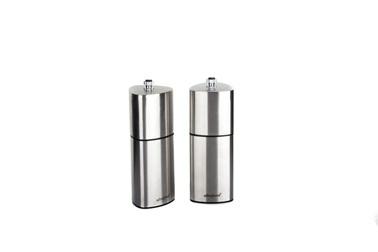 Ultraform Metal Karabiber Ve Tuz Değirmen Seti 15 Cm Renkli